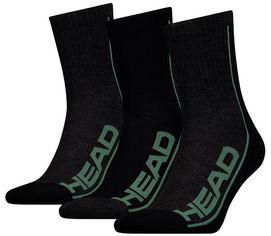 Набор носков HEAD Performance Short Crew 3P Unisex 791010001-164 43-46 р 3 пары Черно-зеленый (8718824742502) от Rozetka