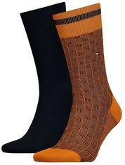Набор носков Tommy Hilfiger Socks 2-Pack Men 482017001-083 43-46 2 пары (8718824568614) от Rozetka