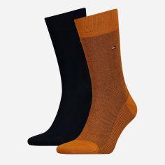 Набор носков Tommy Hilfiger Socks BirdEye 2-Pack Men 482004001-083 39-42 2 пары (8718824568126) от Rozetka