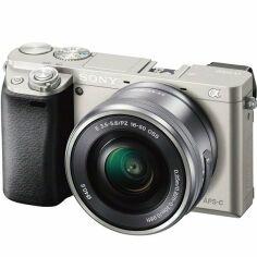 Фотоаппарат SONY Alpha a6000 + 16-50 Silver (ILCE6000LS.CEC) от MOYO
