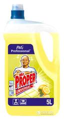 Моющая жидкость для полов и стен Mr. Proper Лимон 5 л (4084500807327) от Rozetka