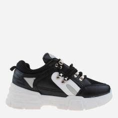 Кроссовки Ideal H97 38 (23.5 см) Черные с белым (H2100000227242) от Rozetka