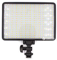 Акция на Накамерный свет PowerPlant LED 396A (LED396A) от Rozetka