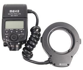 Кольцевая макровспышка Meike для Canon MK-14EXT (RT960125) от Rozetka