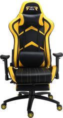 Кресло для геймеров GT RACER X-2534-F Black/Yellow от Rozetka
