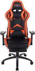Кресло для геймеров GT RACER X-2534-F Black/Orange от Rozetka