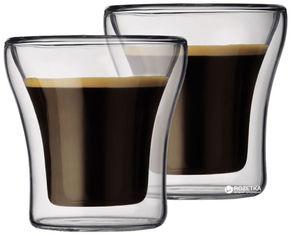 Акция на Набор низких стаканов Bodum Assam 2 шт x 100 мл (4554-10) от Rozetka