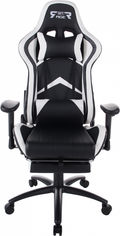 Кресло для геймеров GT RACER X-2534-F Black/White от Rozetka