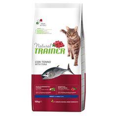 Сухой корм Trainer Natural Super Premium Adult with Tuna для взрослых и стерилизованных кошек от 1 года 10 кг (8059149246994) от Rozetka