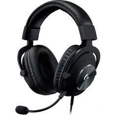 Акция на Гарнитура LOGITECH G PRO Gaming Headset Black (981-000812) от Foxtrot