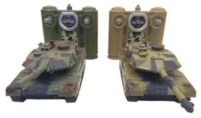 Танковый бой р/у 1:48 HuanQi 552 Leopard 2 от Y.UA