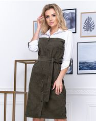 Платье ELFBERG 5171 52 Хаки (2000000372631) от Rozetka