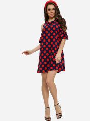 Платье ISSA PLUS 11553 S Сине-красное (issa2000276034417) от Rozetka