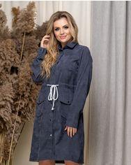 Платье ELFBERG 5168 50 Серое (2000000372297) от Rozetka