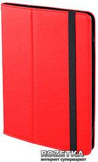 """Акция на Обложка Drobak Premium Case для планшета 9.6-10.3"""" универсальная Fire Red (216899) от Rozetka"""
