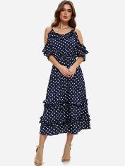 Платье ISSA PLUS 11475 S Темно-синее (issa2000271640330) от Rozetka