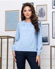 Блузка ELFBERG 441 46 Голубая (2000000374994) от Rozetka