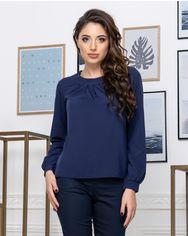 Блузка ELFBERG 441 42 Темно-синяя (2000000375090) от Rozetka