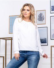 Блузка ELFBERG 5174 50 Белая (2000000375533) от Rozetka