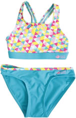 Купальник AquaWave Rodani Jr 152 см Triangle Print/Blue (5901979141990) от Rozetka