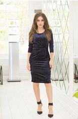 Акция на Платье ELFBERG 421 44 Темно-синее (2000000359274) от Rozetka
