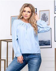 Блузка ELFBERG 5174 56 Голубая (2000000375601) от Rozetka