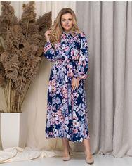 Платье ELFBERG 5180 52 Синее (2000000376004) от Rozetka