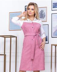 Платье ELFBERG 5171 56 Пудра (2000000372570) от Rozetka