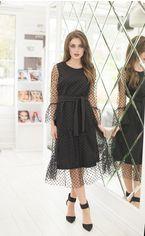 Платье ELFBERG 420 44 Черное (2000000359113) от Rozetka