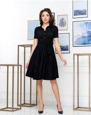 Платье ELFBERG 432 44 Черное (2000000371351) от Rozetka