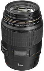 Акция на Объектив Canon EF 100 mm f/2.8 USM Macro (4657A011) от MOYO