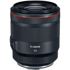 Объектив Canon RF 50 mm f/1.2L USM (2959C005) от MOYO