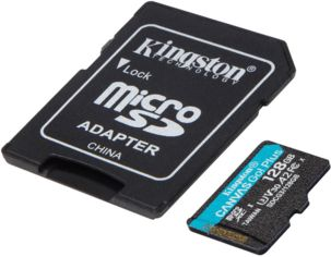 Карта памяти Kingston microSDXC 128GB Canvas Go Plus 170R A2 U3 V30 + Адаптер от MOYO