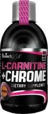 Жиросжигатель Biotech L-Carnitine + Chrome 500 мл Апельсин (5999500532447) от Rozetka