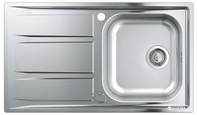 Кухонная мойка GROHE Sink K400 860x500 31566SD0 сатин от Rozetka