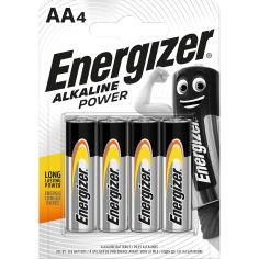 Батарейки ENERGIZER AA Alk Power уп. 4 шт. (E300132901) от Foxtrot