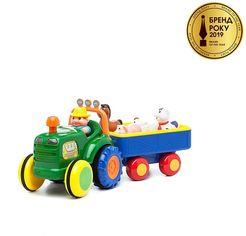 Акция на Игровой набор Kiddieland Трактор фермера (049726) от Stylus