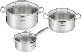 Набор посуды TEFAL Duettо+ 6пр (G719S674) 1,5+2,9+5 от Eldorado