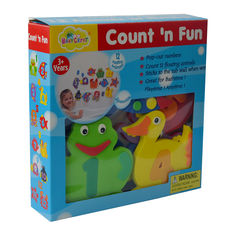 Акция на Аква-пазлы Baby Great Морские жители и циферки (GB-7623B) от Будинок іграшок