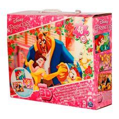 Пазл объемный Spin Master Принцессы 3 в 1 переливной (SM98351/6033052) от Будинок іграшок