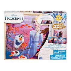 Пазл деревянный Spin Master 3 в 1 Холодное сердце 2 (SM98297/6053001) от Будинок іграшок