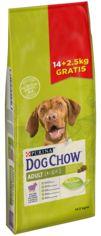 Сухой корм для взрослых собак Purina Dog Chow Adult со вкусом ягненка 16.5 кг (7613034987167) от Rozetka