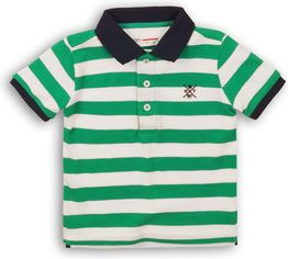 Поло Minoti 1Polost 3 13071 152-158 см Зеленое с белым (5059030308001) от Rozetka