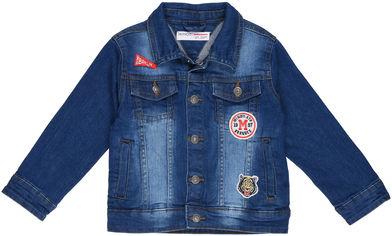 Джинсовая куртка Minoti Sneaker 8 12943 128-134 см Деним (5059030296780) от Rozetka