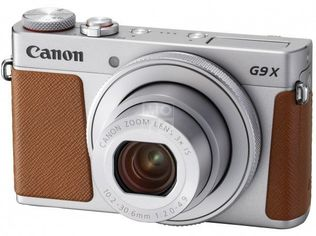 Акция на Фотоаппарат CANON PowerShot G9 X mark II Silver (1718C012) от MOYO
