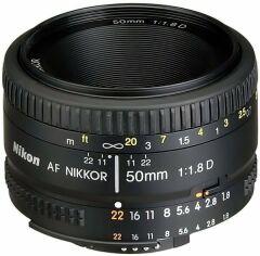 Объектив NIKON AF 50 mm f/1.8D (JAA013DA) от MOYO
