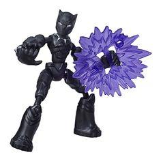 Акция на Фигурка Avengers Bend and flex Черная Пантера (E7377/E7868) от Будинок іграшок