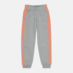 Акция на Спортивные брюки Adidas Yg E 3S FM6984 128 см Medium Grey Heather (4062054899593) от Rozetka