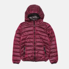 Акция на Демисезонная куртка Evolution 29-ВД-20 164 см Бордо (4823078574220) от Rozetka