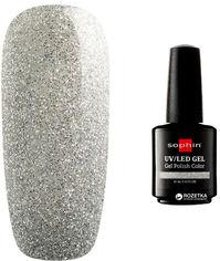 Акция на Гель-лак для ногтей Sophin UV/LED 0743 Silver Sparkles 12 мл (4053919007437) от Rozetka